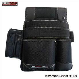 DBLTACT 釘袋 ブラック H320×W310×D150mm DT-19-BK
