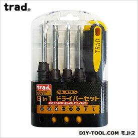 TRAD 8IN1ドライバーセット TDS-81