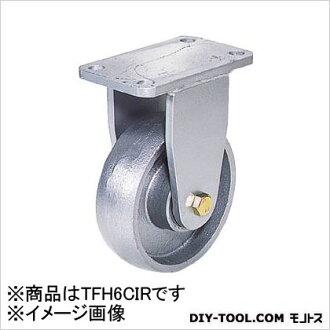 末广汽车制造公司 リボキャスター 固定车韧性轮 Φ 150 × 1) TFH6CIR)