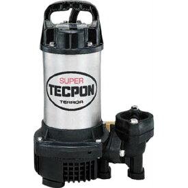 寺田ポンプ 汚物混入水用水中ポンプ(水中スーパーテクポン)非自動 50Hz CX-400