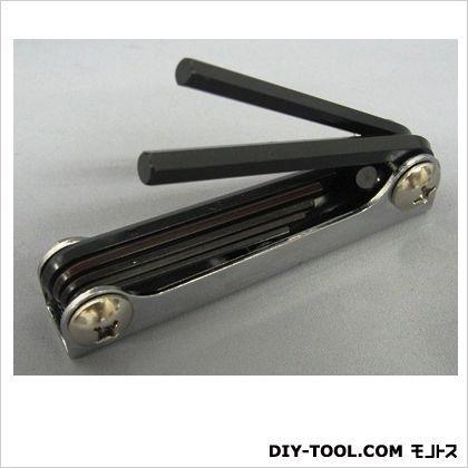 トップマン 六角棒レンチ(ナイフ型)7本組 小