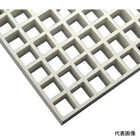 中部コーポレーション FRPグレーチング バーピッチ:40x40mm、グレーチング高さ:40mm定尺パネル寸法:3007x1007x40mm クリア FG4040_CLE
