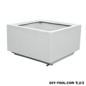 トーシンコーポレーション 大型FRP (角)(プランター) オフホワイト W1000×D1000×H600 FRK-1002SW 個