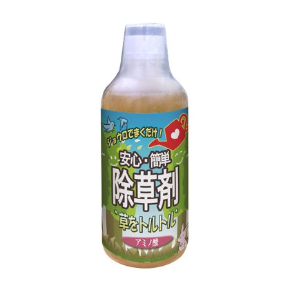 トップウェル 草をトルトル アミノ酸 ジョウロでまくだけ安心・簡単除草剤 500ml (L600247)