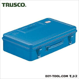 TRUSCO トランク工具箱368X222X95ブルー T-360