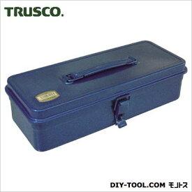 TRUSCO トランク型工具箱333X137X96.5ブルー T-320