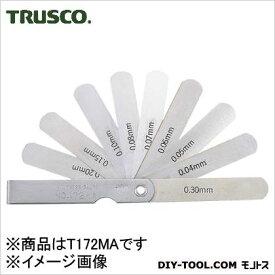 トラスコ スキマゲージ12.7幅長さ75範囲0.04〜0.30 幅12.7 長さ75 範囲0.04?0.30 T172MA