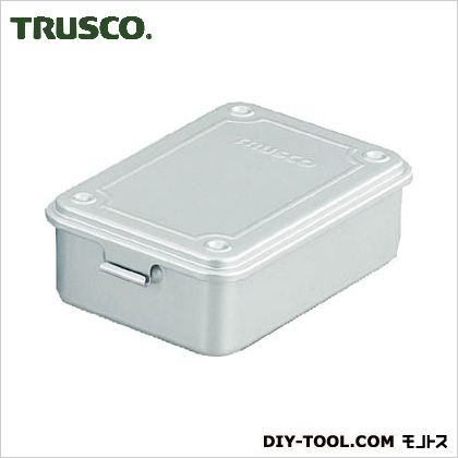 TRUSCO トランク型工具箱154X105X52シルバー T-150SV