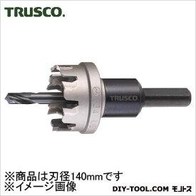 トラスコ 超硬ステンレスホールカッター 140mm (TTG140)