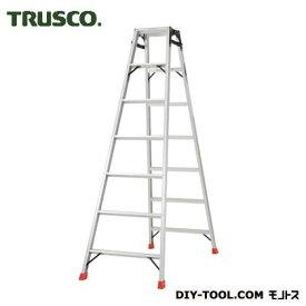 トラスコ アルミ合金製はしご兼用脚立 高さ1.98m  THK210