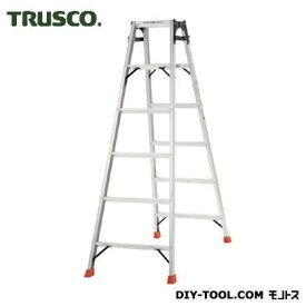トラスコ アルミ合金製はしご兼用脚立 高さ1.69m THK180