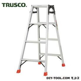 トラスコ アルミ合金製はしご兼用脚立 高さ1.11m  THK120