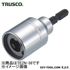 TRUSCO 電動ドライバーソケット全ネジ適応ネジ径W3/8 TEZN-38