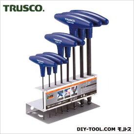 トラスコ T型ボールポイント六角棒レンチセット TSBR8S 8 本組
