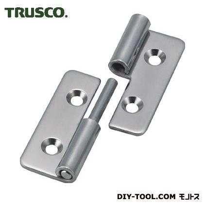 TRUSCO ステンレス製抜き差し蝶番右用全長40mm TNH-40CR 1 個