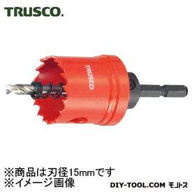 トラスコ 6角軸ホールカッタ 15mm TCL15