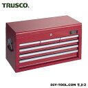 トラスコ キャビネットツールボックス TCBOX4R