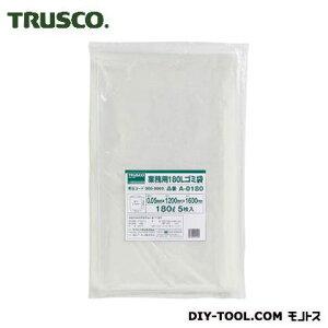 トラスコ(TRUSCO) 業務用ポリ袋厚み0.05X180L(5枚入) 342 x 306 x 179 mm A-0180 5枚