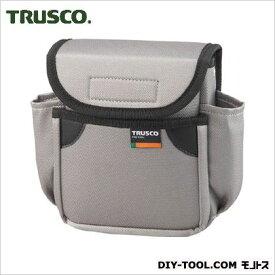 トラスコ(TRUSCO) 小型腰袋二段フタ付グレー 200 x 160 x 70 mm TC52GY
