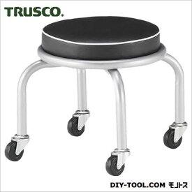 トラスコ 作業椅子 キャスター付 φ300×330 TYZ25533HK