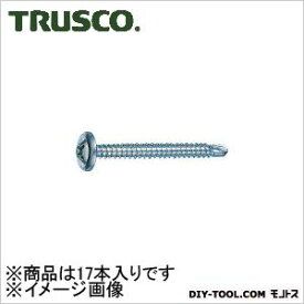 トラスコ(TRUSCO) ドリルねじモドトラス板金用ユニクロM5X7017本入 135 x 53 x 27 mm MJB-70 17本
