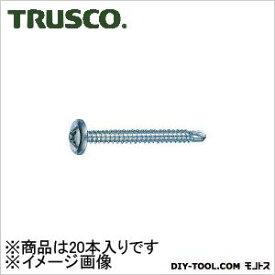 トラスコ(TRUSCO) ドリルねじモドトラス板金用ユニクロM5X6020本入 135 x 54 x 28 mm MJB-60 20本