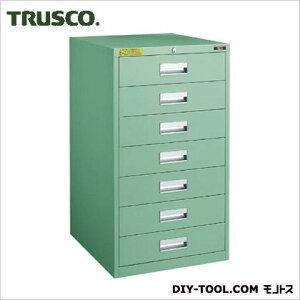トラスコ(TRUSCO) LVE型キャビネット500X550XH880引出7段 LVE-881