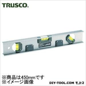 トラスコ アルミレベルマグネット付 450mm (LAHM450) 水平器 水平 水平機