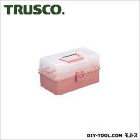 トラスコ ホームケース ピンク  321×195×85 HP320