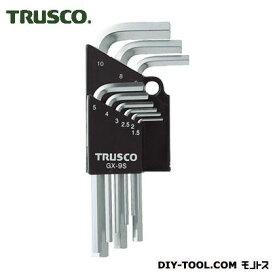 TRUSCO 六角棒レンチセット9本組 GX-9S 9 本