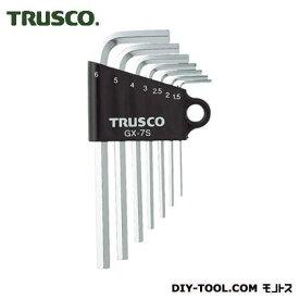 トラスコ(TRUSCO) 六角棒レンチセット7本組 167 x 76 x 14 mm GX-7S 7本