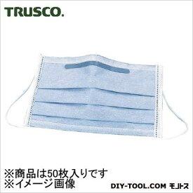 TRUSCO クリーンマスク活性炭入(1Pk(箱)=50枚入) DPM-CM 50 枚