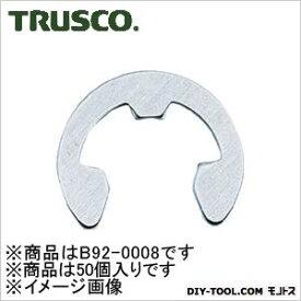 トラスコ(TRUSCO) EリングステンレスサイズE−8.050個入 140 x 60 x 28 mm B920008 50個