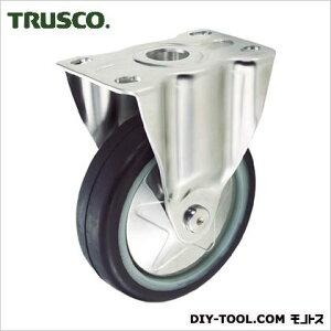 トラスコ(TRUSCO) プレス製省音キャスターゴム車輪・ステンレス金具固定Φ100 115 x 80 x 131 mm TXSK100