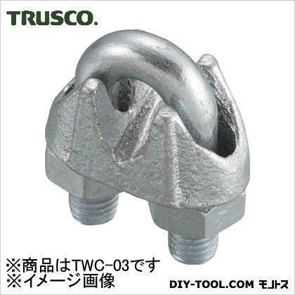 TRUSCO ワイヤークリップスチール製3mm用 TWC-03