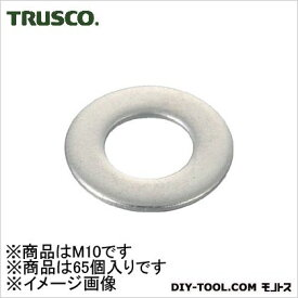 TRUSCO 平ワッシャーステンレスサイズM1065個入 B27-0010 65 個