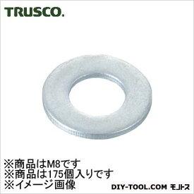 トラスコ ユニクローム平ワッシャー 寸法M8小型 B260816