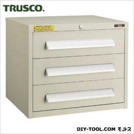 トラスコ(TRUSCO) WLVR型キャビネット500X412X420引出3段ネオグレ NG 512 x 457 x 450 mm WLVR-424