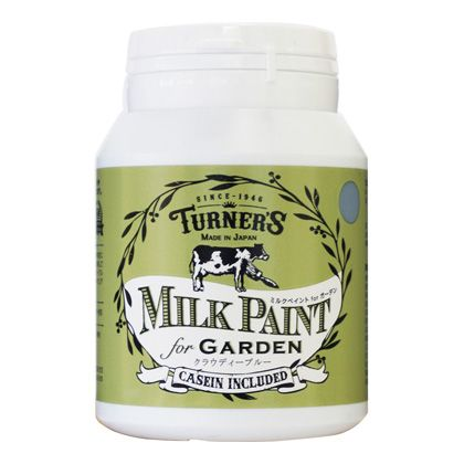 ターナー色彩 【新商品】 ミルクペイントforガーデン クラウディーブルー 200ml MKG20327 ペンキ アンティーク