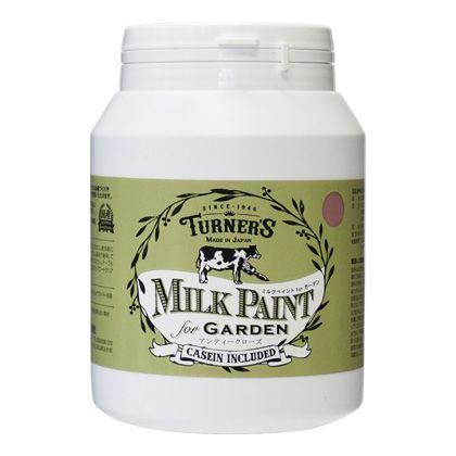 ターナー色彩 【新商品】 ミルクペイントforガーデン アンティークローズ 450ml MKG45337 ペンキ アンティーク