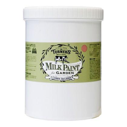 ターナー色彩 【新商品】 ミルクペイントforガーデン アンティークローズ 1.2L MKG12337 ペンキ アンティーク