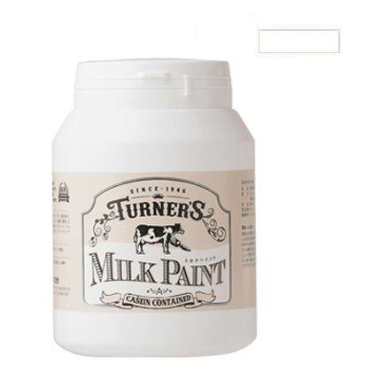 ターナー色彩 ミルクペイント スノーホワイト 450ml MK450001