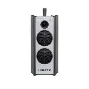 ユニペックス 防滴型ハイパワーワイヤレスアンプ CD/SD/USBプレーヤー付(300MHzダイバシティ) WA-372CD 1台