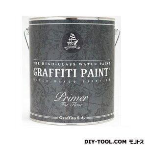 ビビットヴアン グラフィティーペイント フロアプライマー 透明 4L VIVID VAN 塗料 水性塗料