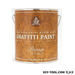 ビビットヴアン グラフィティーペイント メタルプライマー(グレー) 4L VIVID VAN 塗料 水性塗料
