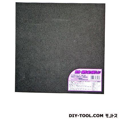 和気産業 PEスポンジシート 黒 10X200(mm) (PES-05)