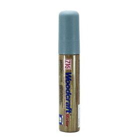 和気産業 白木の塗装マーカー ガーデンペイント 銀鼠 芯幅:15mm