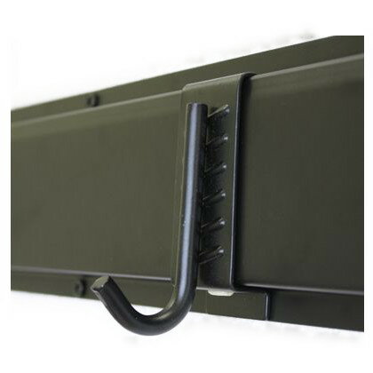 和気産業 レール収納用 Jフック ブラック 7046700
