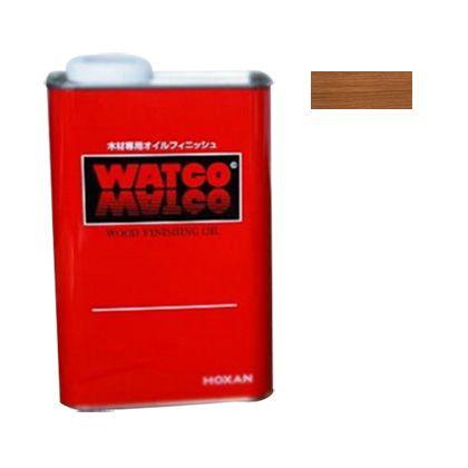 ワトコ社 ワトコオイル浸透性木材用塗料 ナチュラル 3.6L W-01