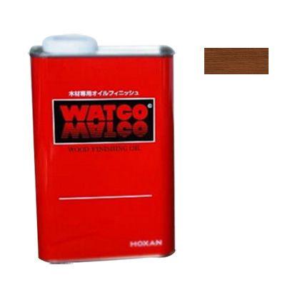 ワトコ社 ワトコオイル浸透性木材用塗料 チェリー 3.6L W-08